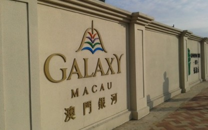 Galaxy Entertainment warns of deceptive websites