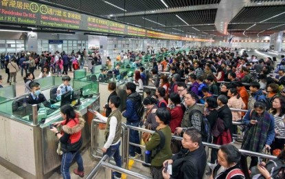 Mainland visitors to Macau up 7.6 pct in 1Q