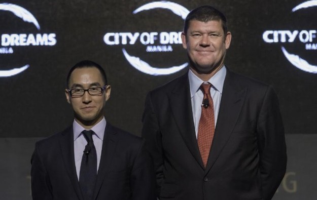 Ho ups Melco Crown stake to 51 pct, Packer to leave firm