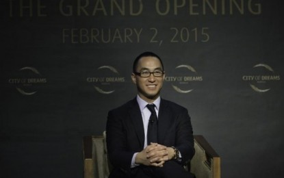 Melco Crown not eyeing South Korea, for now