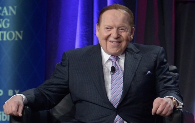 Adelson tops Forbes list of wealthy gaming investors