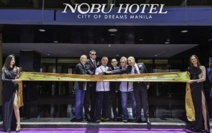 City of Dreams Manila goes Hollywood with Nobu Hotel