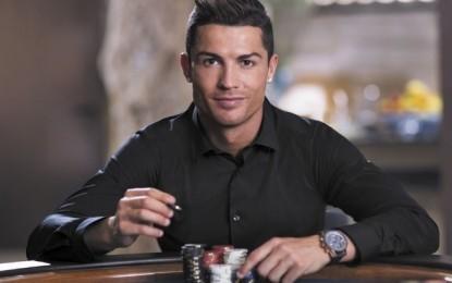 Cristiano Ronaldo brand ambassador for PokerStars