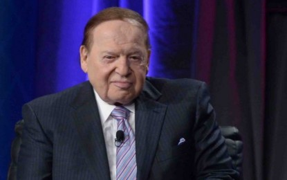 Adelson misses Venetian Macao 10th anniversary  after fall