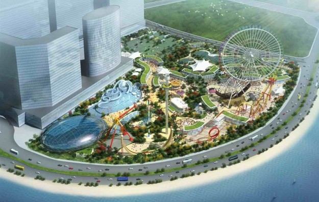 Angela Leong's Cotai theme park awaits govt nod