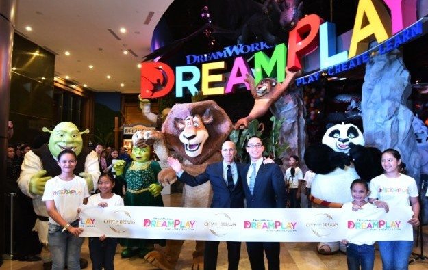 DreamWorks play zone open at City of Dreams Manila
