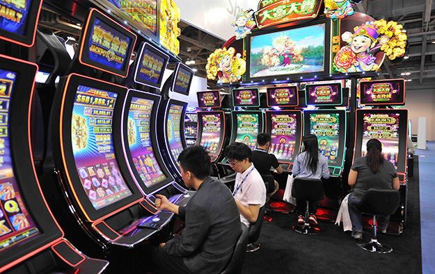 Bingo Slot Machines Games