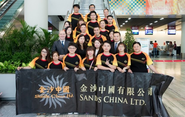 Sands China dealers on secondment at Marina Bay Sands