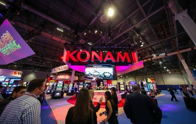 Konami slot division revenue up 10 pct in fiscal 1H