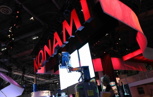 Konami slot division revenue up, profit falls