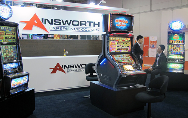 ainsworth gaming news