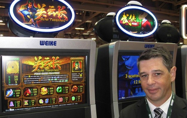 Weike hails tie with Casino Game Maker