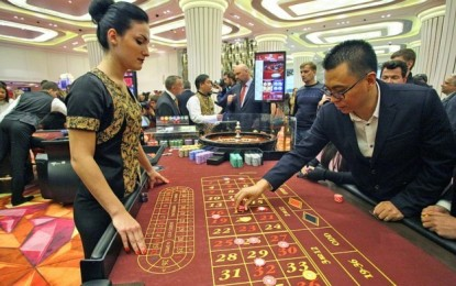 Lawrence Ho's Russian casino gets 190k guests YTD: govt
