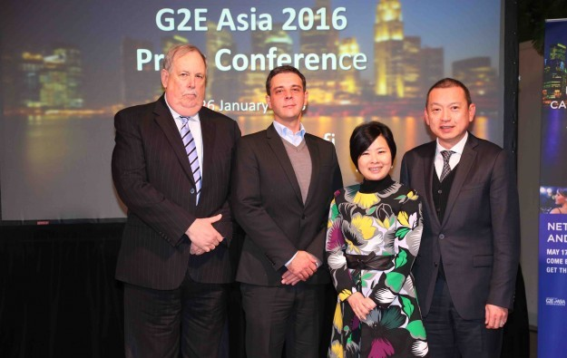 Event line-up announced for G2E Asia 2016