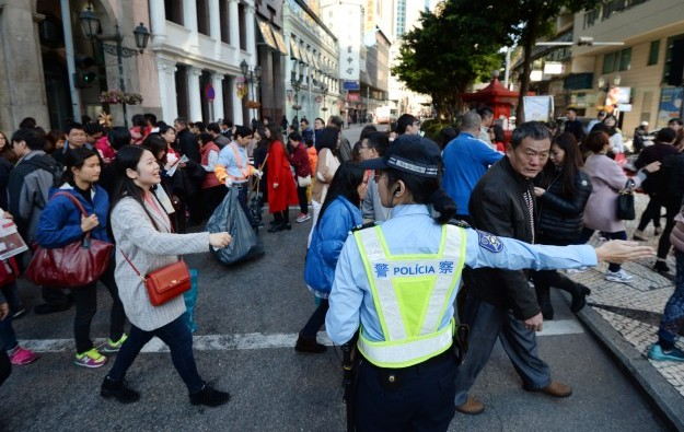 Chinese New Year Macau visitor arrivals up by 7.5 pct