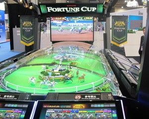 Konami excited by 'Fortune Cup' reception at G2E Asia