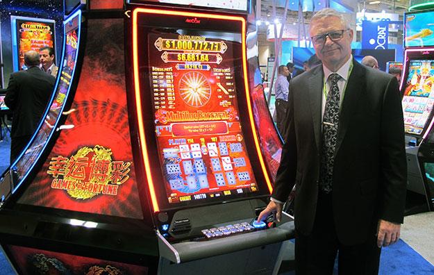 GGRAsia – Aristocrat brings baccarat to slot machines