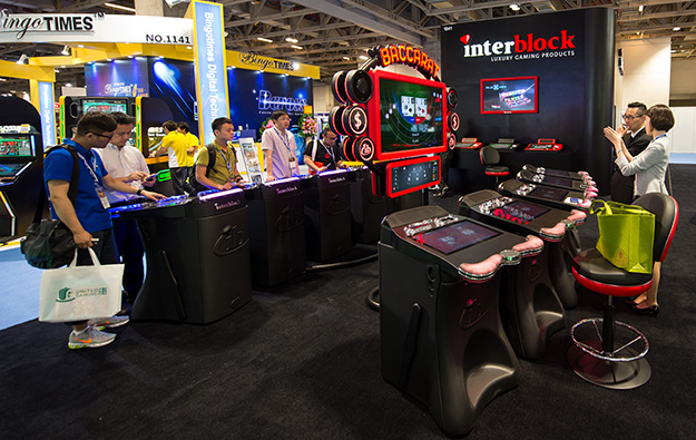 Interblock installs 84-seat stadium game at Okada Manila