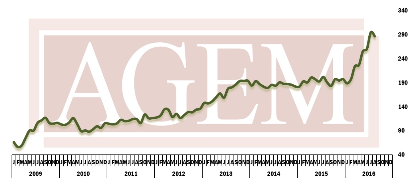 AGEM Index August 2016