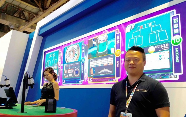 Casino game media from X Stadium in Macau early 2017