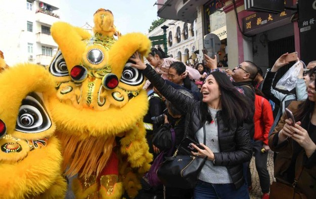 CNY tourist visits to Macau up 10pct y-on-y: govt