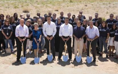 Gov attends Aristocrat Nevada campus ground breaking