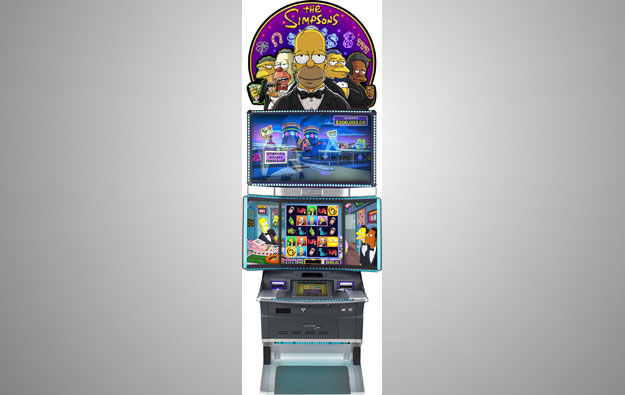 Sci Games launches The Simpsons slot product