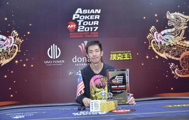 Malaysia's Aik Chuan wins APT Southeast Asia main event