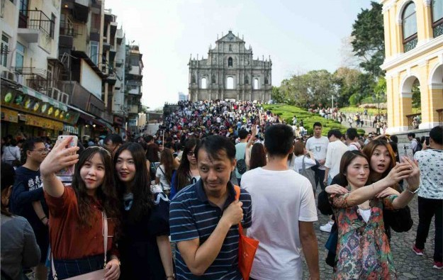 Visitor arrivals to Macau up 5.4 pct in first half of 2017