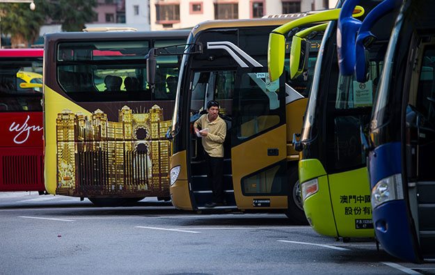 Macau casino ops to test eco-buses on Cotai route