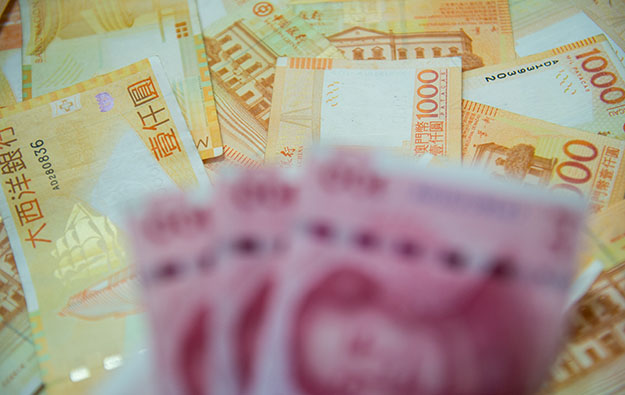 Crackdown continues on illegal Cotai money exchange