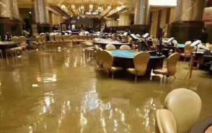 Huge storm wreaks damage, disruption in Macau