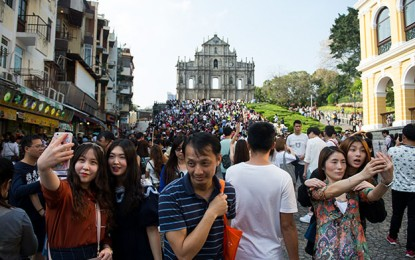 Macau visitor arrivals up by 18 pct on National Day