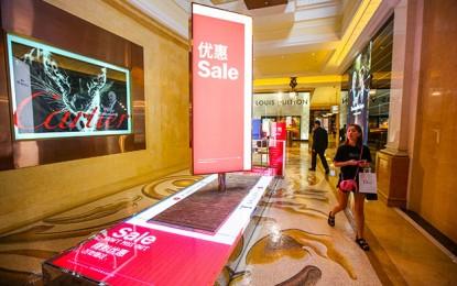 Macau tourist price index down 0.22pct in 4Q