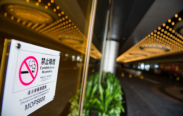 Rise of 60pct in Macau gamblers fined for smoking