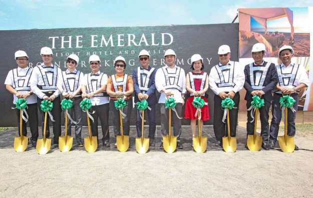 Udenna breaks ground on Cebu casino resort