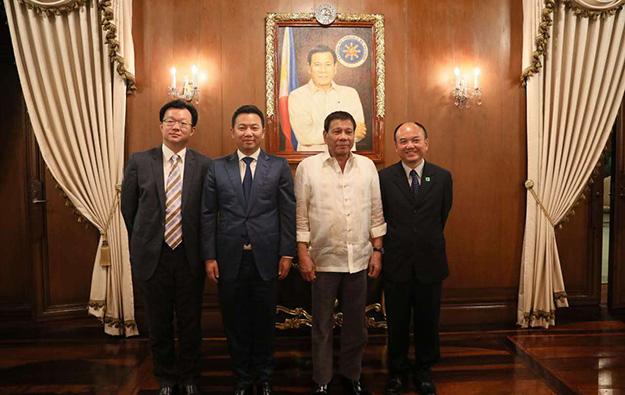 China's Landing Int taps Duterte on Philippines IR idea