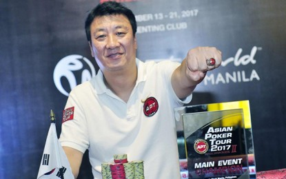 Sung Ho Kim wins Philippines APT leg main event