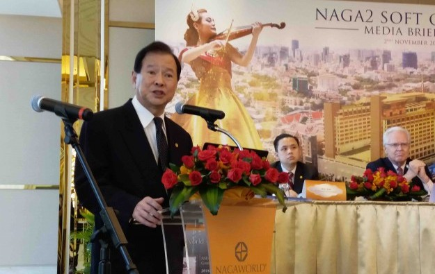 NagaCorp's Chen widens aims, bolstered by Cambodia