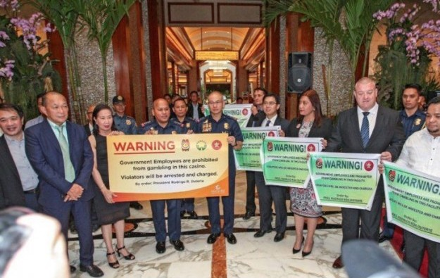 Pagcor vows to enforce ban on govt officials in casinos