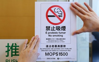 Wynn Macau Ltd lets smokers break rules again: unions