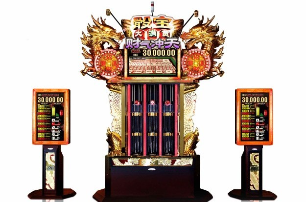 Giant Sega Sammy sic bo machine for MGM Cotai