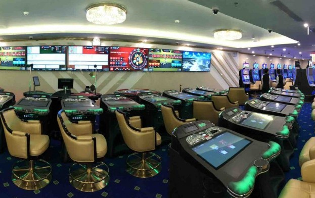 Interblock casino games stadium at new Vietnam VIP club