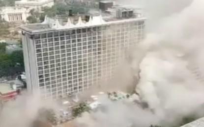 Death toll in Philippine casino hotel fire rises to five