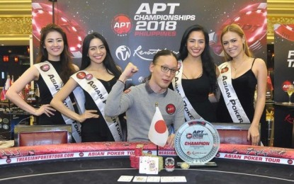 Japan's Yogo wins APT Championship Event in Manila
