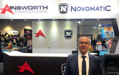Ainsworth names ex-Novomatic exec Lawrence Levy as CEO