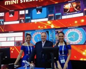 Scientific Games stadiums, Asian links adorn trade show