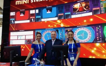 Scientific Games stadiums, Asian links adorn trade show