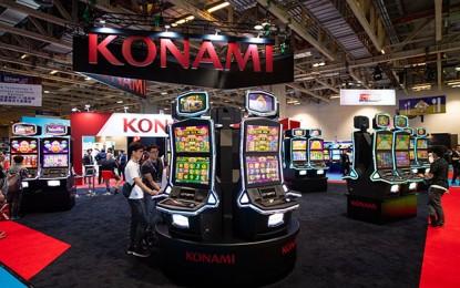 Konami slot division quarterly revenue down, profit up