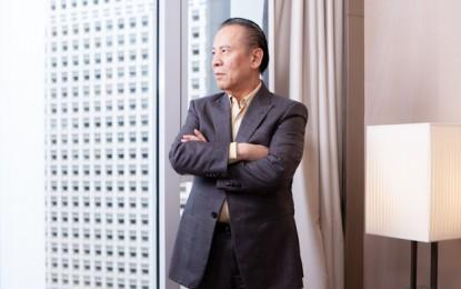 Okada prods Manila bourse on pending casino listing